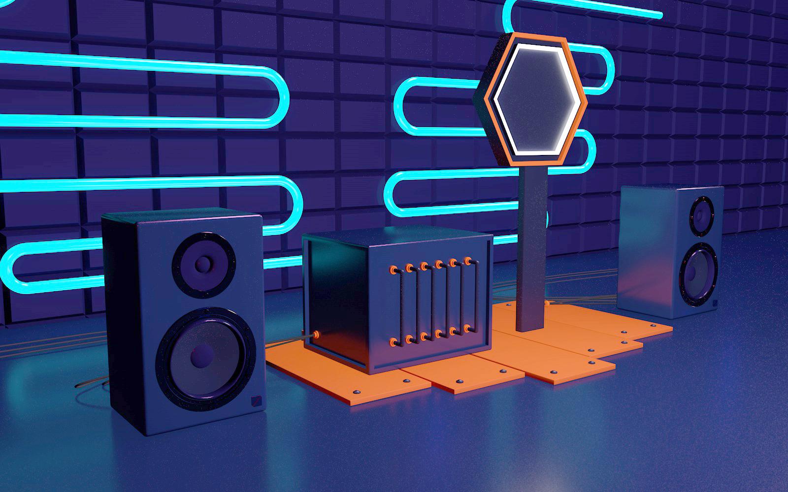 C4D模型蓝色科技音乐发烧友设备音箱016.jpg