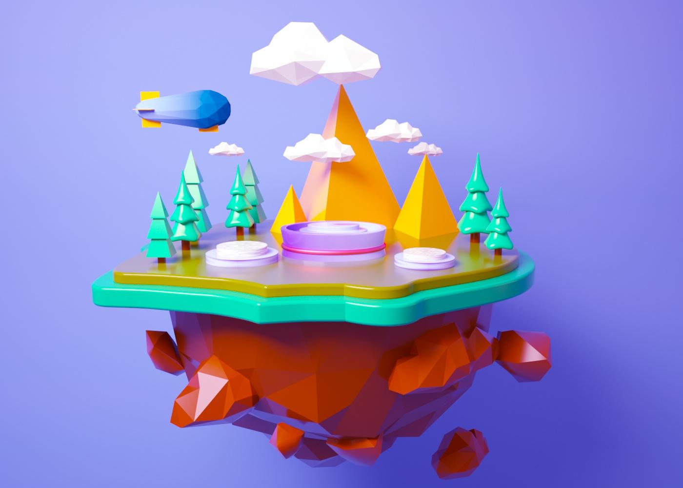 C4D模型悬浮立体森林小岛热气球旅行032.jpg